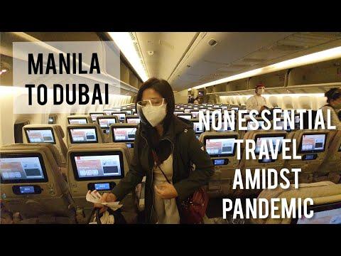 MANILA TO DUBAI | TRAVELING TOURIST DURING PANDEMIC | DJTONIGRACE