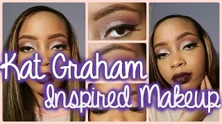 Tutorial  | Kat Graham Inspired Makeup