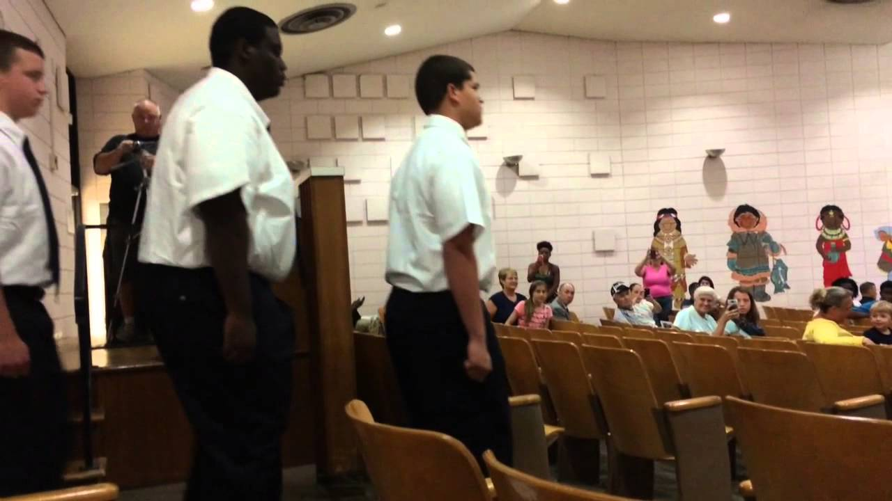 Nine Flint teens march into Michigan State Police Youth Leadership Academy  graduation