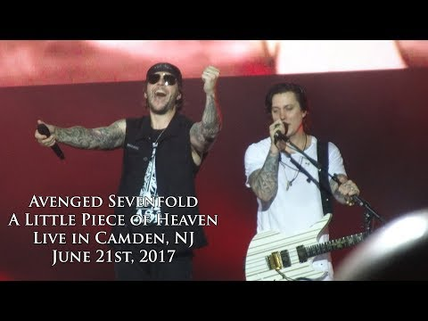 Avenged Sevenfold  A Little Piece of Heaven + Marriage Proposal  in Camden, NJ 62117