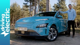 New 2021 Hyundai Kona Electric SUV review – DrivingElectric