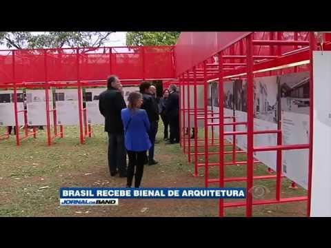 Brasil recebe bienal de arquitetura pela primeira vez