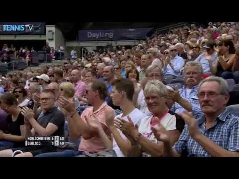 2016 German Open Tennis Championships: Tuesday Highlights ft. Zverev & Kohlschreiber