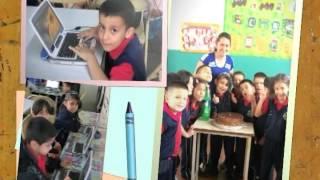 Promoción de escolares al primer grado. UE Simón Rodríguez