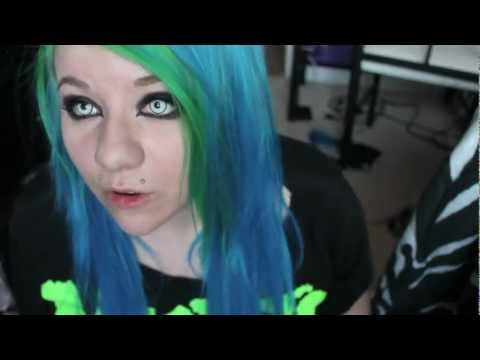 hair dye reviews on manic panic special effects color jamz directions and ion brights youtube