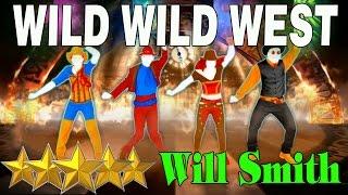 🌟 Just Dance 4: Wild Wild West - Will Smith | Best Dance Music 🌟