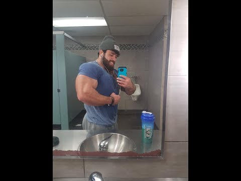 Cocky Bodybuilder Flexing Hairy Muscle Beast Chest Pecs Arms