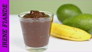 Шоколадный мусс из авокадо. Рецепт десерта из банана и авокадо