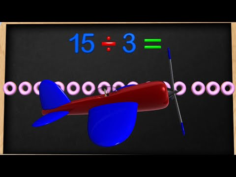 Division Basics for kids - 2nd and 3rd Grade Educational Math Video