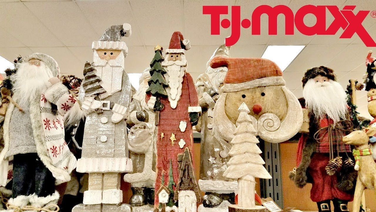 Shop With Me Tjmaxx Christmas Decorations 2017 Youtube
