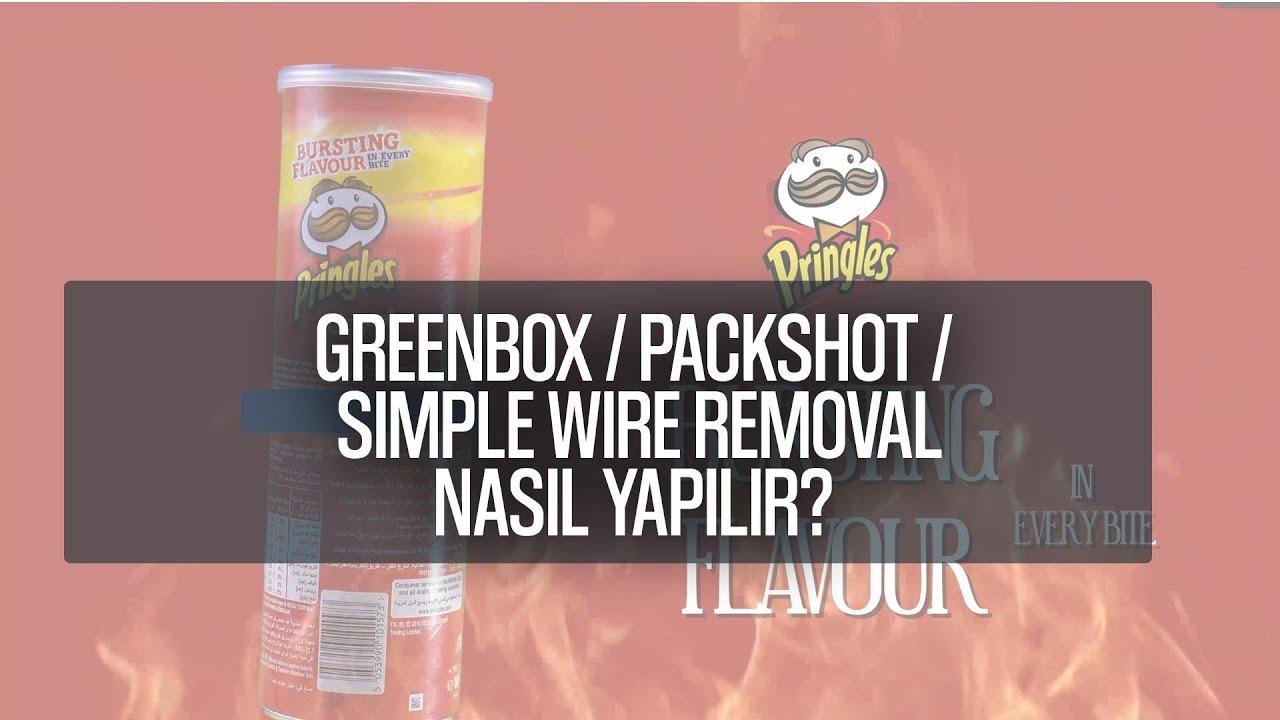 Yeşil Perde Packshot ve Simple Wire Removal
