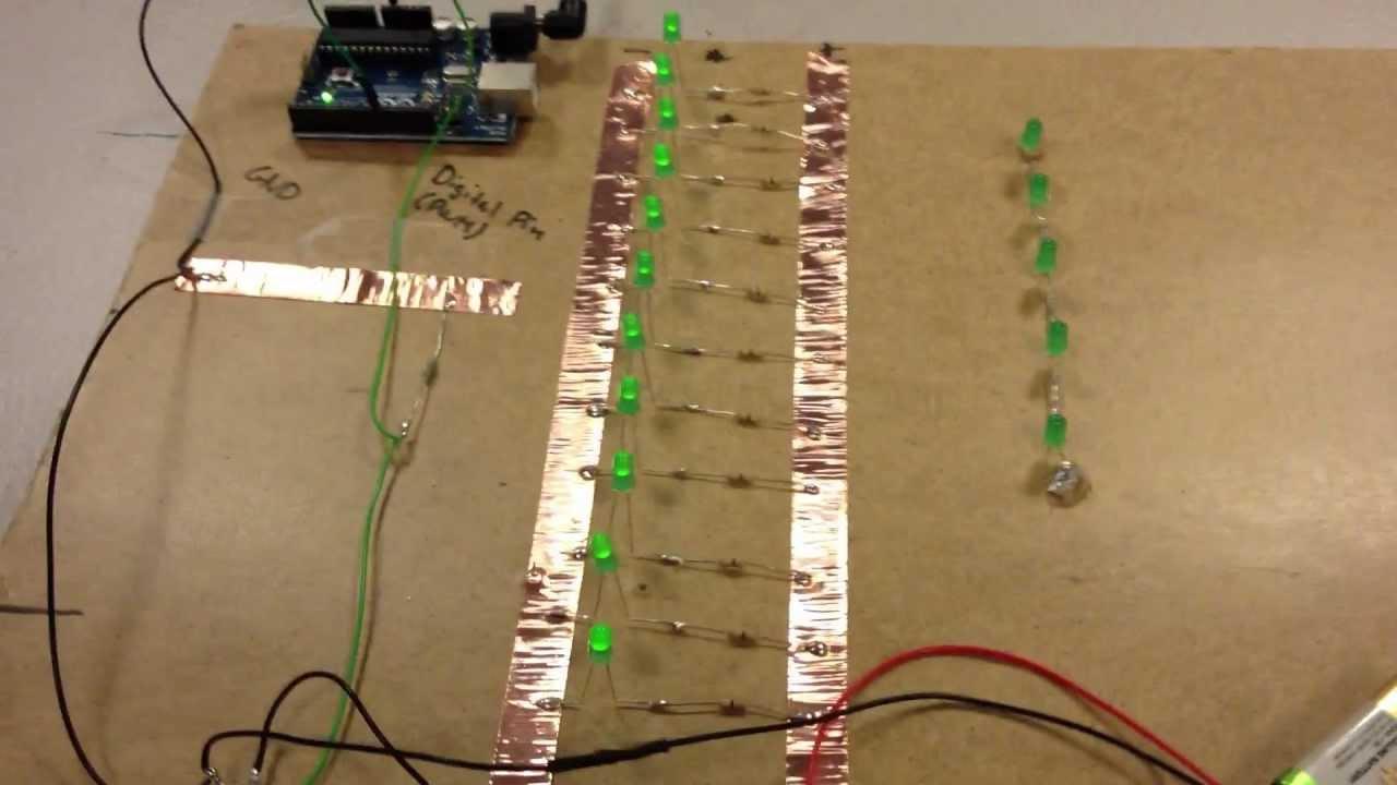 medium resolution of simple parallel arduino led setup