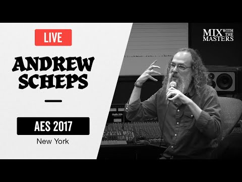 Andrew Scheps live workshop at AES NY 2017