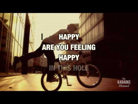 "Happy? (Radio Version) in the Style of ""Mudvayne"" with lyrics (no lead vocal)"