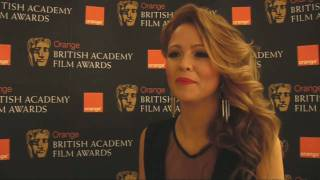 Girls Aloud's Kimberley Walsh prepares for Brits