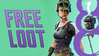 FREE FORTNITE SKIN DISPONIBLE DÈS MAINTENANT! Emote Freestylin, Peau, Pioche - Bling Dos