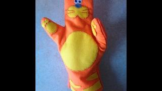 делаем игрушку на руку из фетра для кукольного театра
