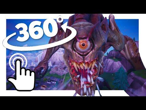 MONSTER vs MECH in VR !   Fortnite 360° Experience