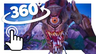 monster vs mech in vr fortnite 360 experience