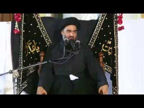 08 Majlis 07 Muharram 1439 2017 Maulana Ali Raza Rizvi