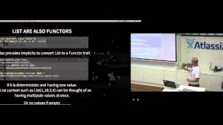 ScalaSyd 40 - 1. Functor, Apply, Applicative, Bind and Monad by Oliver Daff (Sep 2015)