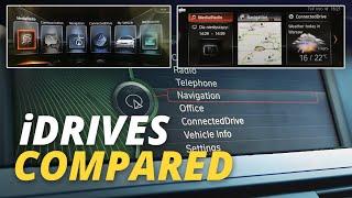 CCC, CIC, NBT and NBT Evo - BMW Navigation System Comparison