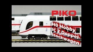 PIKO [V065] H0 Hobby IC 2 Doppelstockwagen - Modellvorstellung