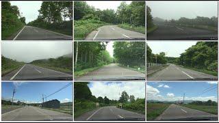2017年のニセコクラシックコース140kmをドライブ [倶知安町 共和町 蘭越町]