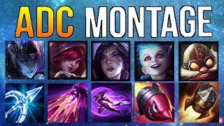ADC Montage 12 - Best ADC Plays Compilation   League Of Legends Mid