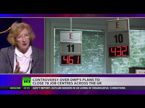 """Job centres provide support & advice"" - Baroness Meacher"