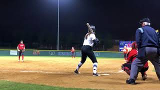 Walk-off Single District Win against Marcus HS 4/6/18