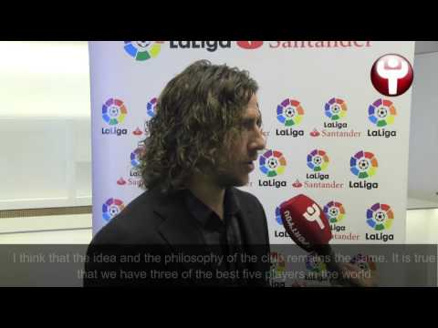 Puyol: I expect and I hope Messi renews his contract
