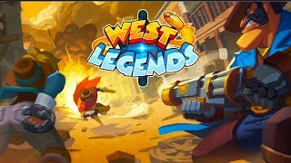 West Legends - Beta Android Gameplay (3V3 MOBA)