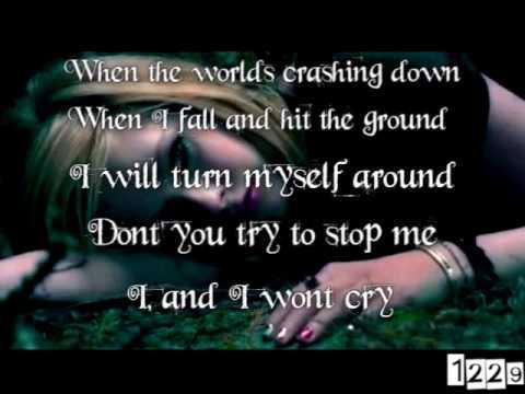 Avril Lavigne Alice underground from Tim Burtons Alice In Wonderland w lyrics