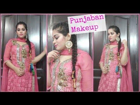 Makeup Like A Punjaban Punjabi Suit Makeup Sunnyandtwinkle Youtube
