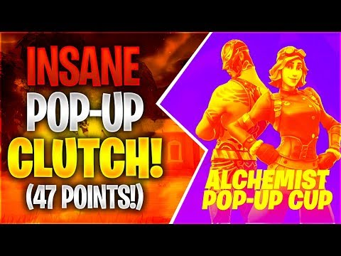 INSANE POP-UP CUP CLUTCH 47 points