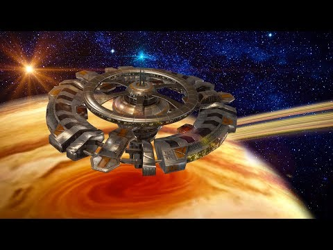 Jupiter Space Station White Noise | Study, Sleep or Relax to