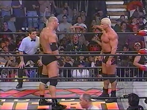 Scott Steiner w/Buff Bagwell (nWo Wolfpac Elite) vs. Bill Goldberg (WCW) - ENTRANCES