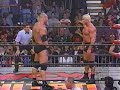Download Scott Steiner w/Buff Bagwell (nWo Wolfpac Elite) vs. Bill Goldberg (WCW) - ENTRANCES