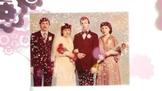 Очень трогательный видео подарок родителям на годовщину свадьбы. До мурашек!