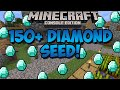 Minecraft Xbox & Playstation: TONS OF DIAMONDS SEED! 150+ Diamonds! | [Xbox 360, Xbox One, PS3, PS4]