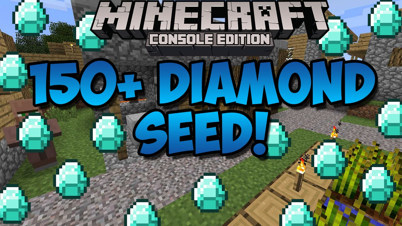 Minecraft Xbox Playstation Tons Of Diamonds Seed  Diamonds Xbox  Xbox One Ps Ps Youtube