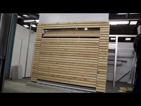 porte de garage affleurante kam l o youtube. Black Bedroom Furniture Sets. Home Design Ideas