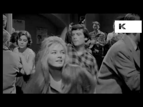 1960s Nightclub, Teenagers Dancing, Beatnik, Jazz