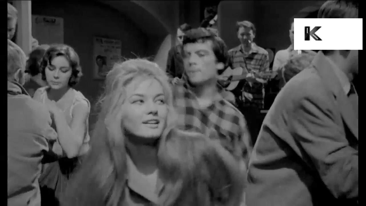 1960s Nightclub Teenagers Dancing Beatnik Jazz