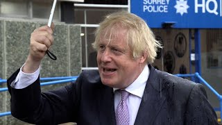 video: Boris Johnson promises 'fluorescent-jacketed chain gangs' so criminals can visibly pay debt