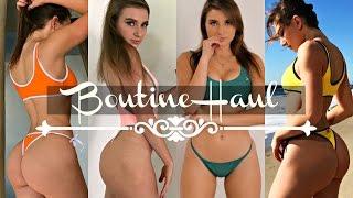 BoutineLA Bikini Haul | GymShark Announcement | Chooks Haul