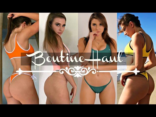 BoutineLA Bikini Haul   GymShark Announcement   Chooks Haul
