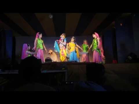 Mayapur gour purnima stage program ..by IYF Cultural Team, Dhaka