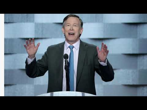Colorado Governor John Hickenlooper Running For President in 2020